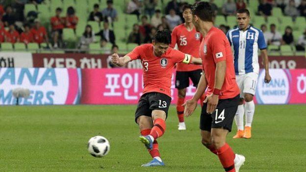 เกาหลีใต้ 2-0 ฮอนดูรัส