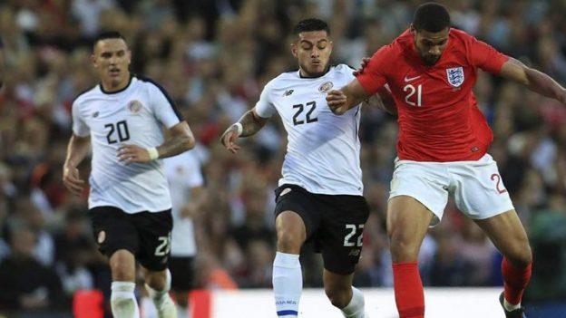 อังกฤษ 2-0 คอสตาริก้า