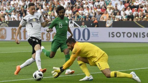 เยอรมัน 2-1 ซาอุดิอาระเบีย