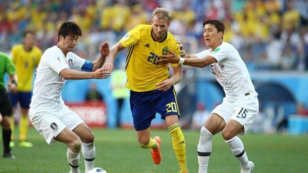 สวีเดน 1-0 เกาหลีใต้
