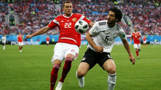 รัสเซีย 3-1 อียิปต์