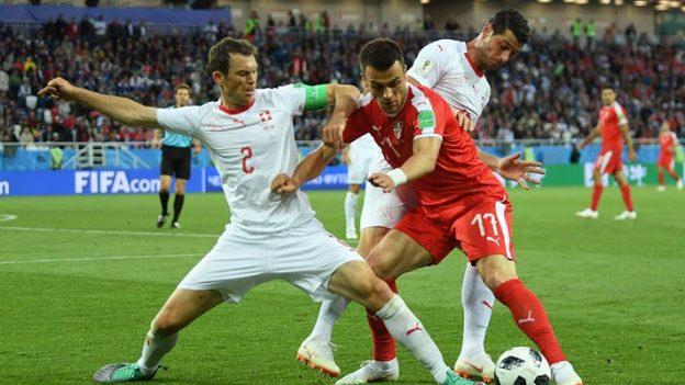 เซอร์เบีย 1-2 สวิตเซอร์แลนด์