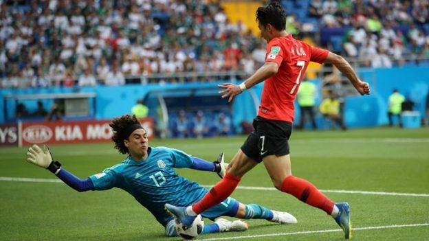 เกาหลีใต้ 1-2 เม็กซิโก