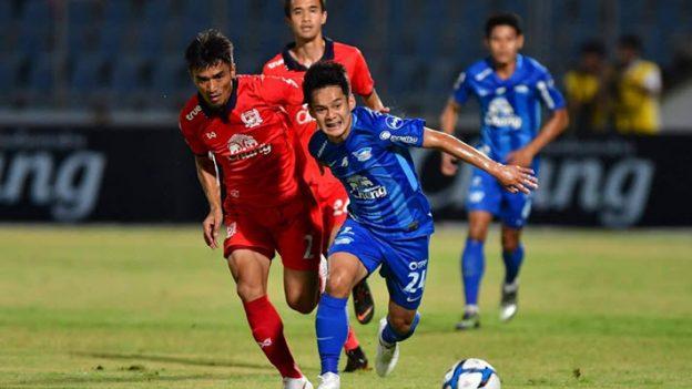 ชลบุรี เอฟซี 2-0 สุพรรณบุรี เอฟซี