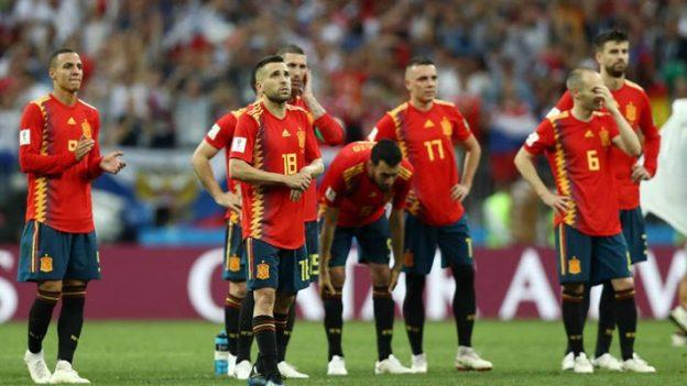 สเปน 1-1 (3-4) รัสเซีย