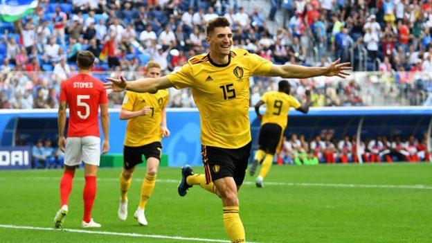 เบลเยี่ยม 2-0 อังกฤษ