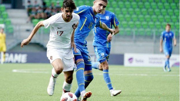 ยูเครน 0-5 โปรตุเกส U19