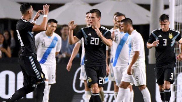 อาร์เจนติน่า 3-0 กัวเตมาลา