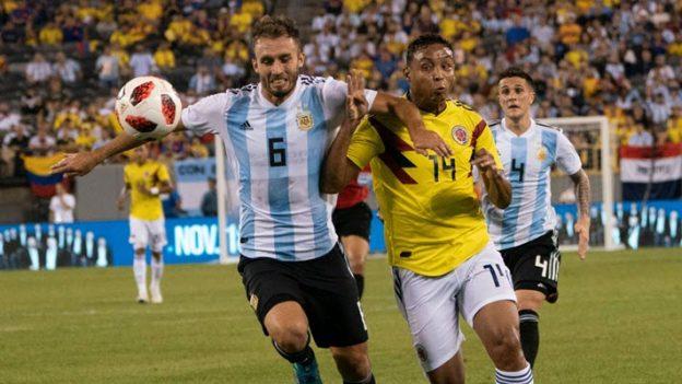 โคลอมเบีย 0-0 อาร์เจนตินา
