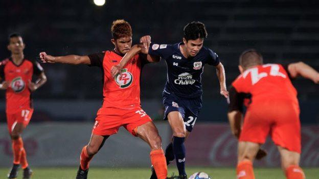 พีที ประจวบ 0-1 สุพรรณบุรี เอฟซี