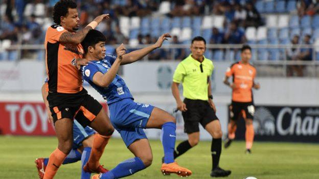 ชลบุรี เอฟซี 1-1 สิงห์ เชียงราย