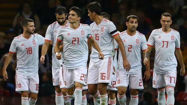เวลส์ 1-4 สเปน