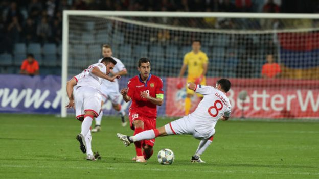 อาร์เมเนีย 0-1 ยิบรอลตาร์