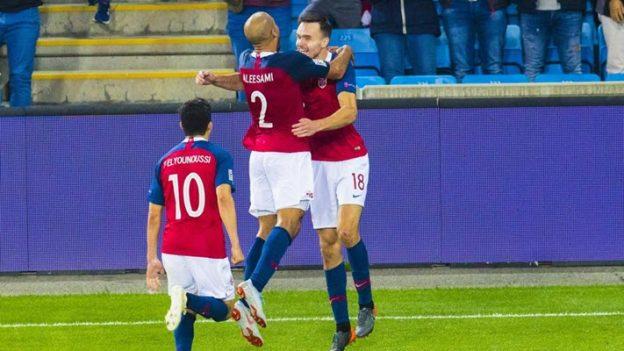 นอร์เวย์ 1-0 สโลเวเนีย