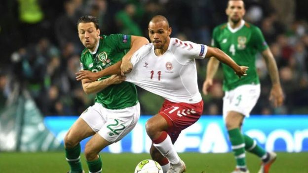 ไอร์แลนด์ 0-0 เดนมาร์ก