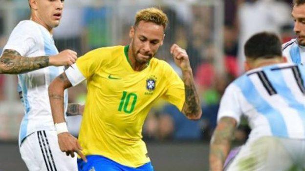 บราซิล 1-0 อาร์เจนติน่า