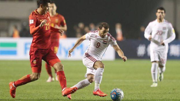 จีน 2-0 ซีเรีย