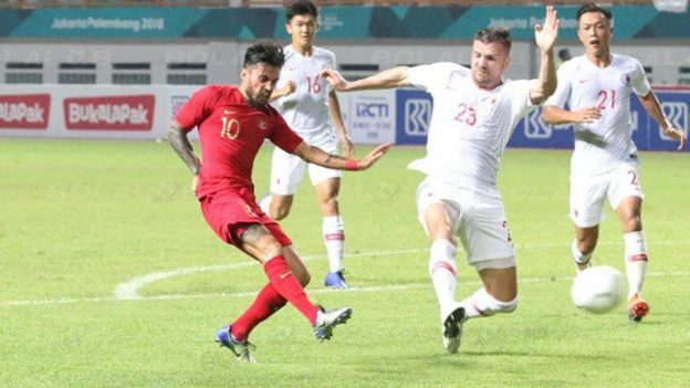 อินโดนีเซีย 1-1 ฮ่องกง