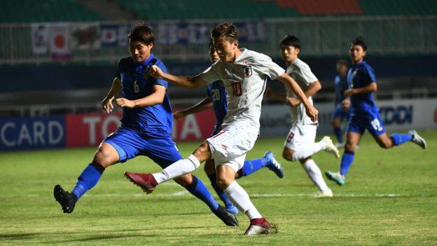 ทีมชาติไทย 1-3 ญี่ปุ่น