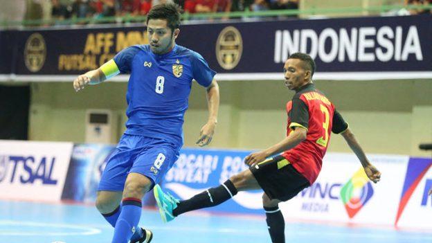 ทีมชาติไทย 14-0 ทีมชาติติมอร์-เลสเต