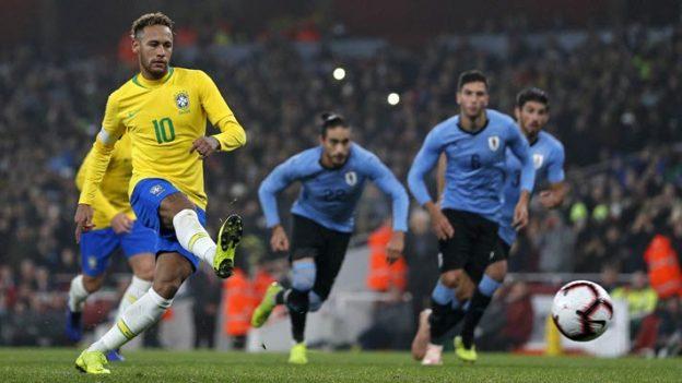 อุรุกวัย 0-1 บราซิล