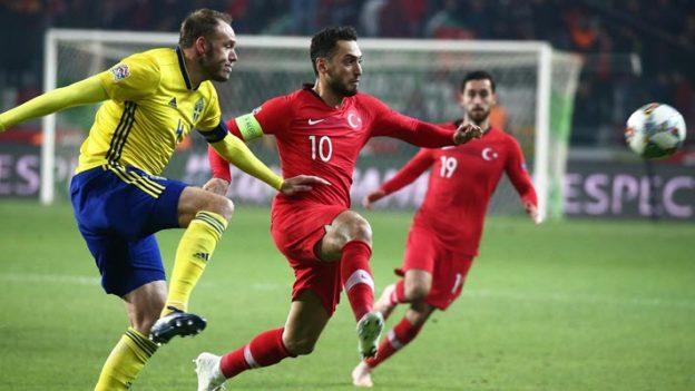 ตุรกี 0-1 สวีเดน