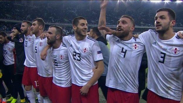 จอร์เจีย 2-1 คาซัคสถาน