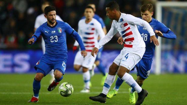 อิตาลี 1-0 สหรัฐอเมริกา