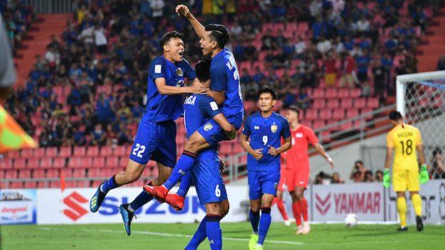 ทีมชาติไทย 3-0 สิงคโปร์