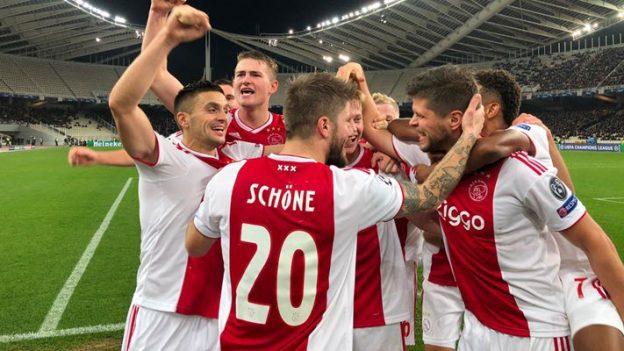AEK เอเธนส์ 0-2 อาแจ็กซ์