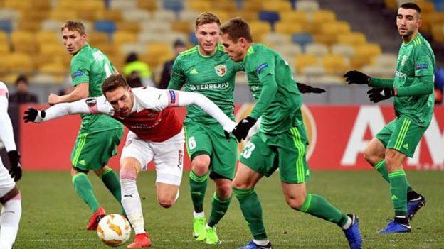 วอร์สคลา โพลทาว่า 0-3 อาร์เซนอล