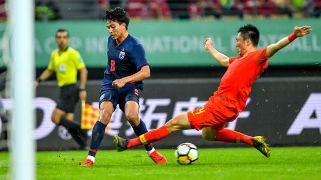 จีน 0-1 ทีมชาติไทย