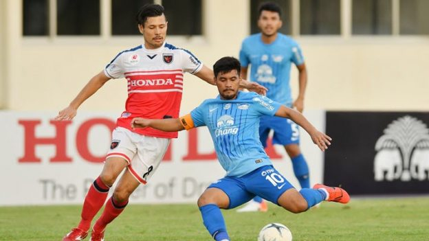 ไทยฮอนด้า เอฟซี 3-3 (8-6) ชลบุรี เอฟซี