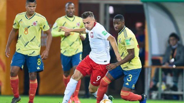 โปแลนด์ 0-2 โคลอมเบีย