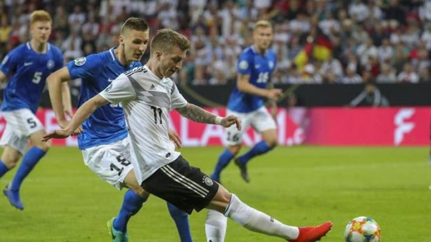 เยอรมนี 8-0 เอสโตเนีย