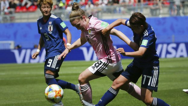 ชิงแชมป์โลก 2019 ญี่ปุ่น 2-1 สก็อตแลนด์ (