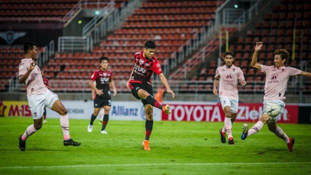 แบงค็อก ยูไนเต็ด 2-0 ราชบุรี มิตรผล