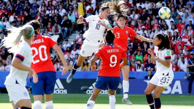สหรัฐอเมริกา 3-0 ชิลี