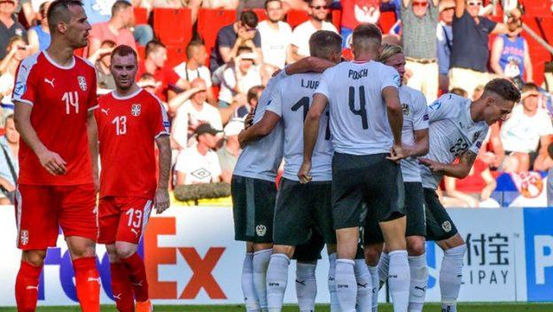เซอร์เบีย 0-2 ออสเตรีย
