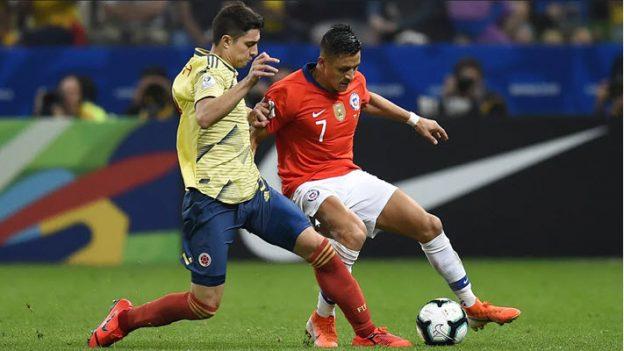 โคลอมเบีย 0-0 (4-5) ชิลี