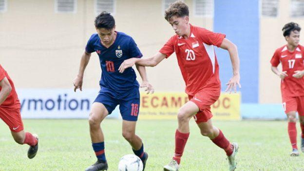 ทีมชาติไทย 1-1 สิงคโปร์ U18
