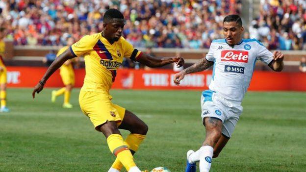 บาร์เซโลน่า 4-0 นาโปลี
