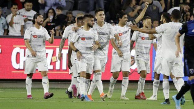 ลอสแอนเจลิส 4-0 ซานโฮเซ เอิร์ธเควกส์