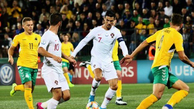 Lithuania 1-5 Portugal