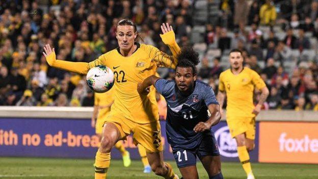 ออสเตรเลีย 5-0 เนปาล