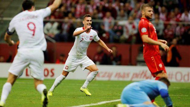 โปแลนด์ 2-0 มาซิโดเนีย