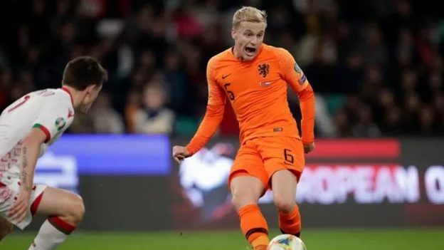 เบลารุส 1-2 เนเธอร์แลนด์