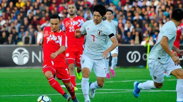 ทาจิกิสถาน 0-3 ญี่ปุ่น