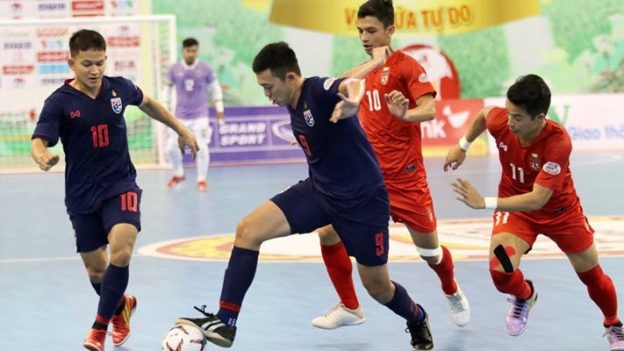 ทีมชาติไทย 9-0 ทีมชาติเมียนมาร์