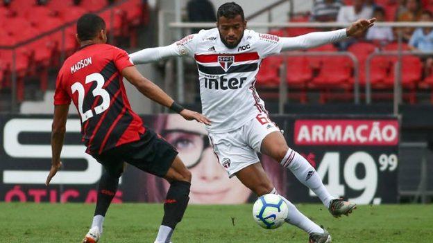เซาเปาโล 0-1 พาราเนนเซ่